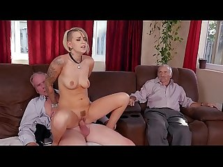 BLUE PILL MEN - Young Presley Carter Takes Old Man Cock For Concert Tickets