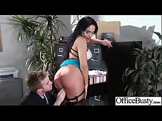 Hardcore bang with Busty naughty Cute Office girl Selena santana Video 28