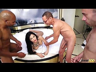 Bruna butterfly first gangbang part 1