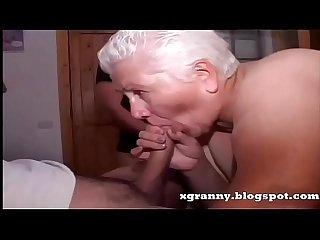 BBW grannies anal gangbang