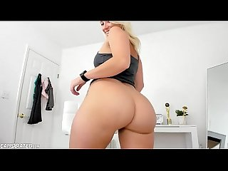 Blonde Beauty Teen With Big Ass