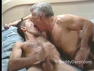 2 gay hung hairy executive daddies