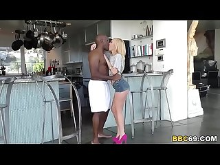 Petite blonde aaliyah love fucks a black cock
