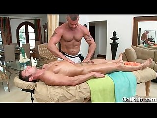 Stud gets dick sucked during massage 4 by gotrub