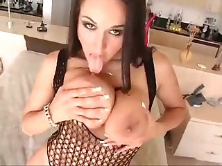 Carmella Bing POV blowjob