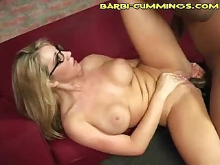 Black nuts bust in white pussy