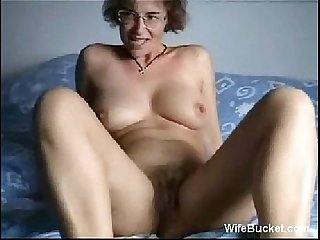 Milf Wife Finger fucking her juicy pussy