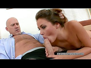 Office slut allie haze bangs the boss