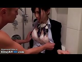 Japanese hostess fucked hard in the shower full at elitejavhd com