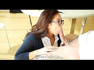 Little student slut morgan lee wants to be fucked fantasyhd