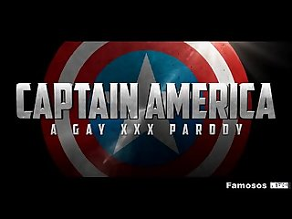 Captain America A Gay XXX Parody - Trailer