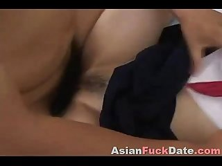 Japanese scout girl fucked hard