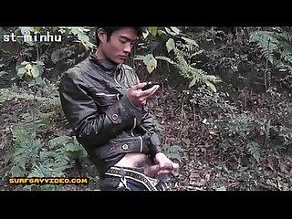 Motor cyclist japan boy
