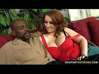 Felicia Clover s vagina gets pounded by huge black cock