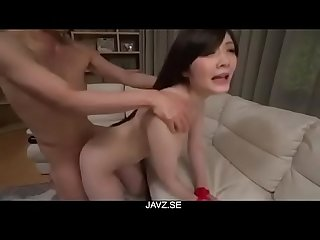 Rie Tachikawa, obedient milf, endures cock in her twat - From JAVz.se