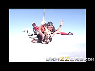 Day with A pornstar kagney linn karter krissy lynn two pussies and one parachute brazzers