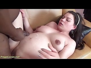 her first rough preggo big black cock sex lesson