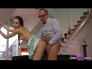 Fucked amateur blows old