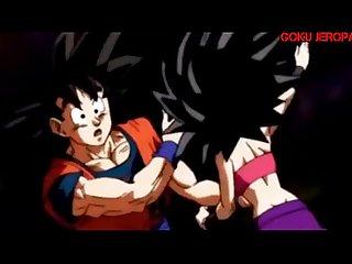 Goku se coge a caulifla