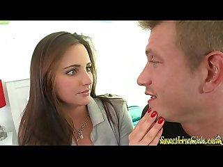 Hot brunette teen get fucked 2 wmv