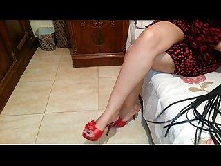 Egyptian mistress lamees feet teasing mistress abir