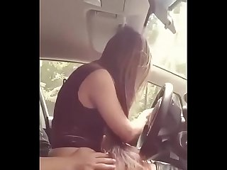 Hot girl fuck in car