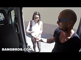 Another day another victim on the bang bus featuring carolina abril