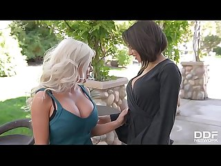 Busty vixens savannah stevens darcie dolce fill their pinks with sex toys