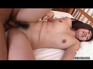 Big breasted cutie emi koizumi blows and rides A dick