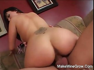Hot asian babe fucked hard and got a facial