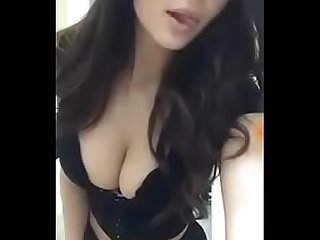 sexy indian busty model dance at home for her boyfriend