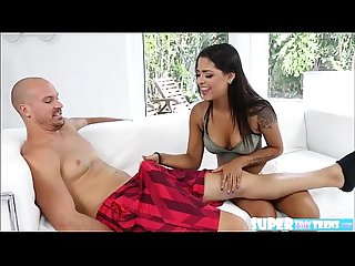 Short and amateur Nikki Kay gets hammered by her neighbors big cock