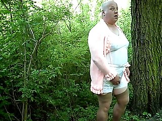 Fat sissy outdoor #5