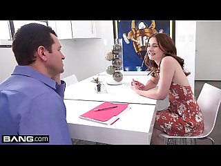 Danni Rivers lowers her rent by fucking her landlord