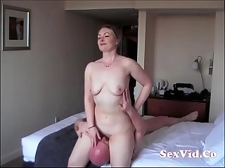 British wife cheating in a hotel new