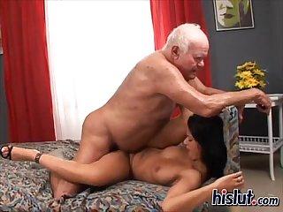 Tera enjoys fucking cock
