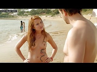 Juliette lemonnier topless on the beach public hotel de la plage s01e02 2014