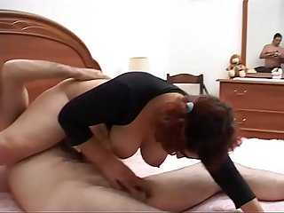 Mature horny gets her partner s cock hard