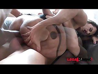 Latina slut mia linz finally dap ed by two huge cocks