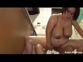 Fat Asian BBW Fucked in Kitchen - more at Asian-BBW.com