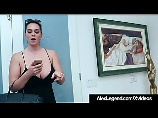 Busty Alison Tyler Ditches Dorky Date to Fuck Alex Legend!