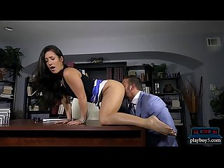 Co workers pussy licking and fucking in the office