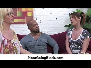 Mom go black - Interracial hardcore sex 29