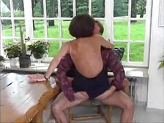 Granny fucking and anal