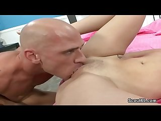 Petite Teen Get First Time Fuck by Stranger with Big Dick