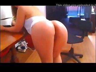 Hot Girl Masturbates On Webcam - Watch Her Live At www.AngelzLive.com