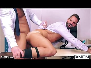 Working hunks jessy ares has his way to dani robles sweet ass