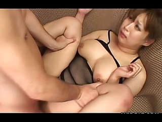 Cute japanese babe enjoys group sex
