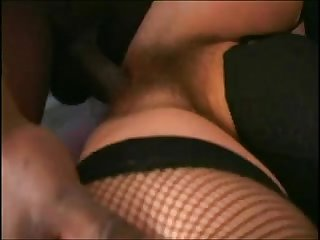 Hairy pussy milf adores joachims black cock