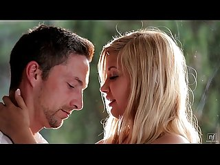 Nubile films romantic encounter leads to hot facial